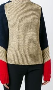 NEW Tommy Hilfiger Collection Colorblock Sweater
